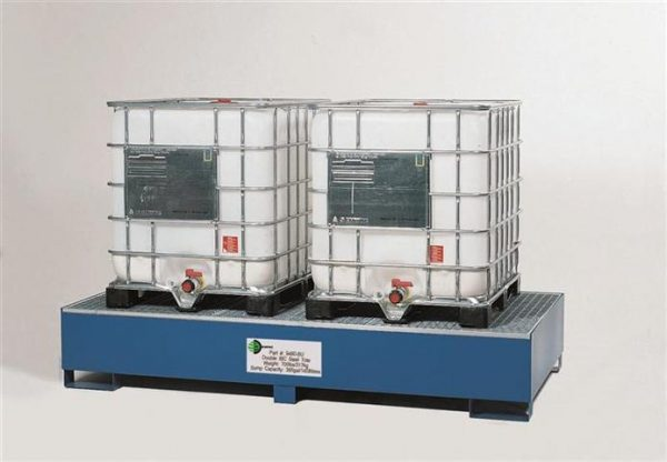 Double IBC Spill Containment System