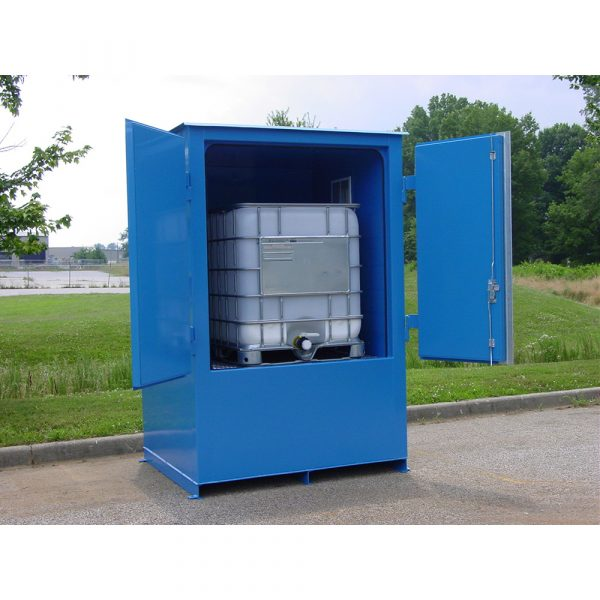 Single IBC HazMat Containment Building
