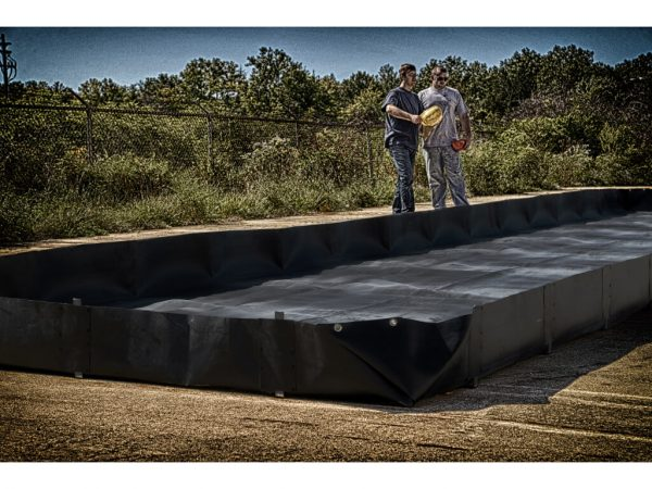 L-Bracket Portable Spill Containment Berm